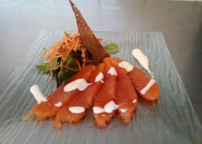 saumon;resto